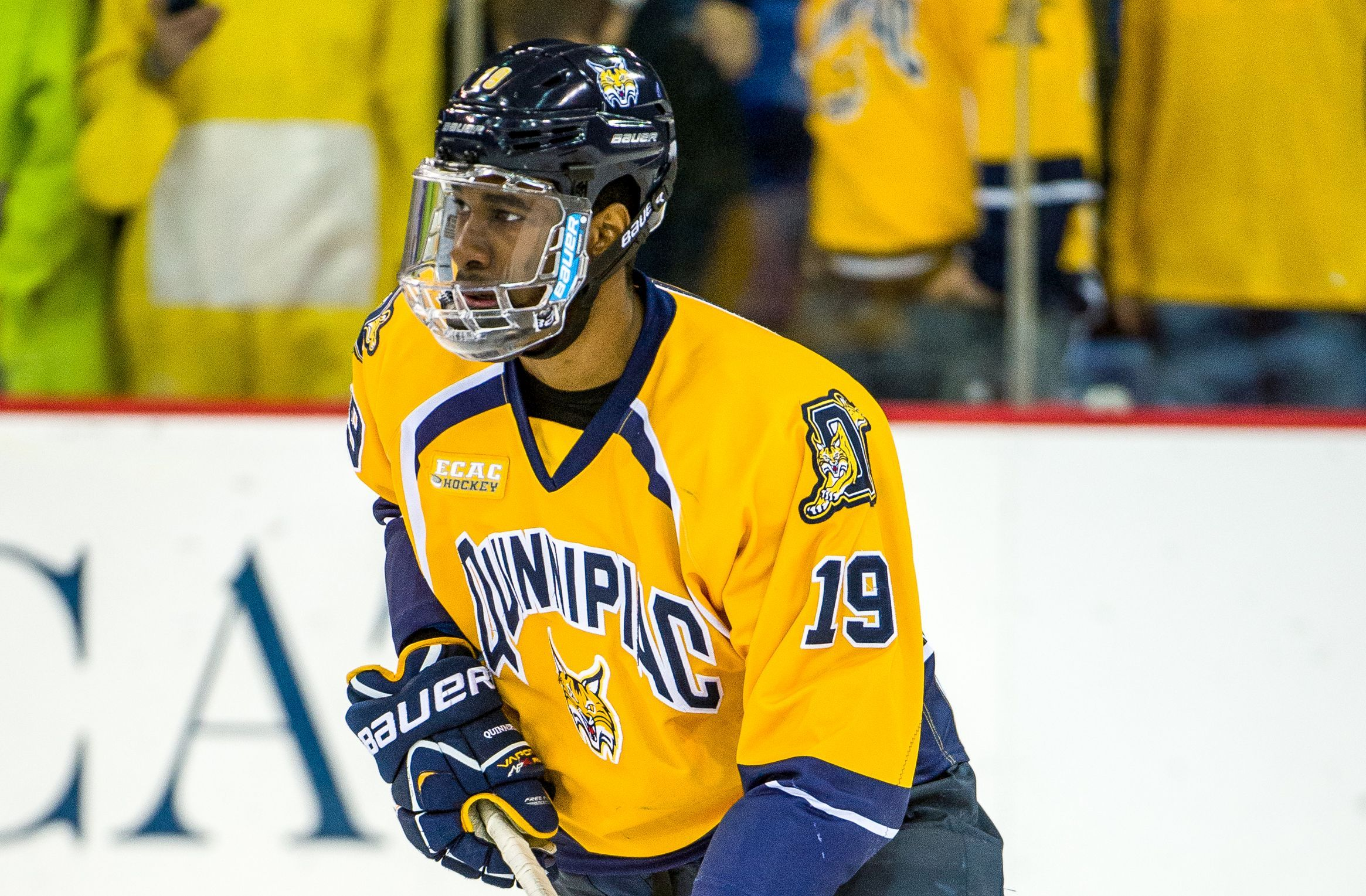 College coach on Sabres prospect Jordan Samuels-Thomas: 'He's got high-end potential'