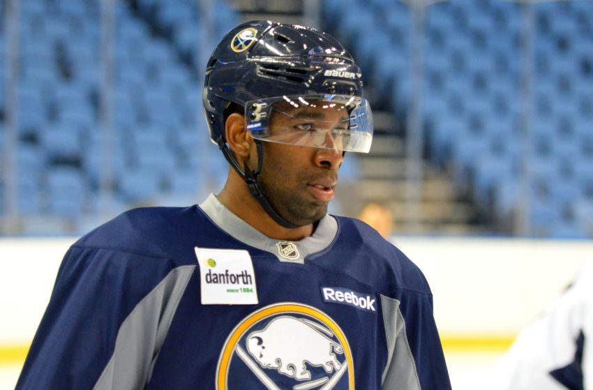 Hulking prospect Jordan Samuels-Thomas ready for fresh opportunity with Sabres