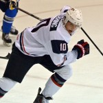 Photo: Sabres prospect Hudson Fasching with Team USA at Lake Placid