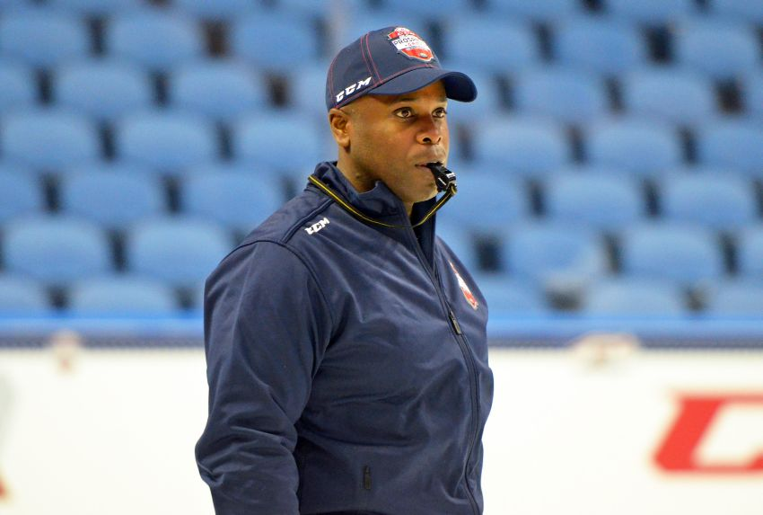 Mike Grier enjoying retirement, understands Sabres' rebuild