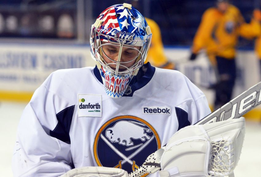 Goalie Andrey Makarov to start against Leafs, part of young Sabres lineup