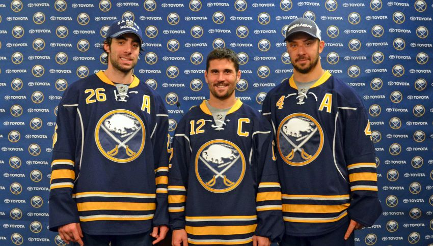 Ted Nolan on captain Brian Gionta and Sabres' leadership group: 'A new direction'