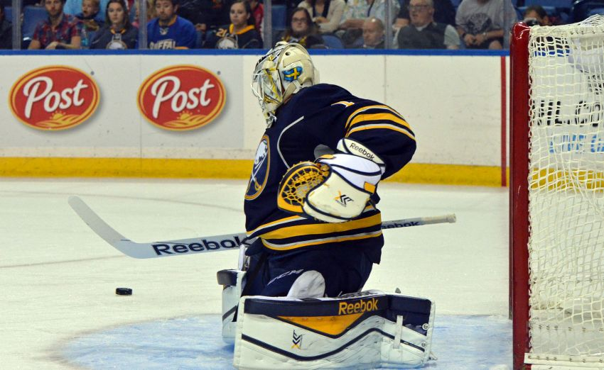 Sabres goalies Jhonas Enroth and Michal Neuvirth still battling for playing time