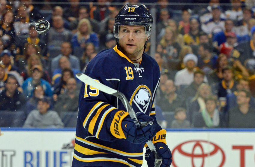 Sabres' Cody Hodgson feeling comfortable at left wing