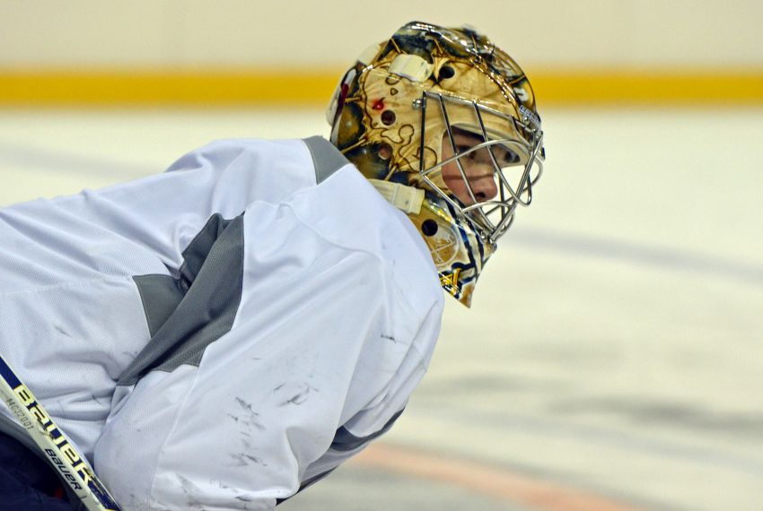 With Sabres goalie Jhonas Enroth No. 1, Michal Neuvirth must wait for opportunity