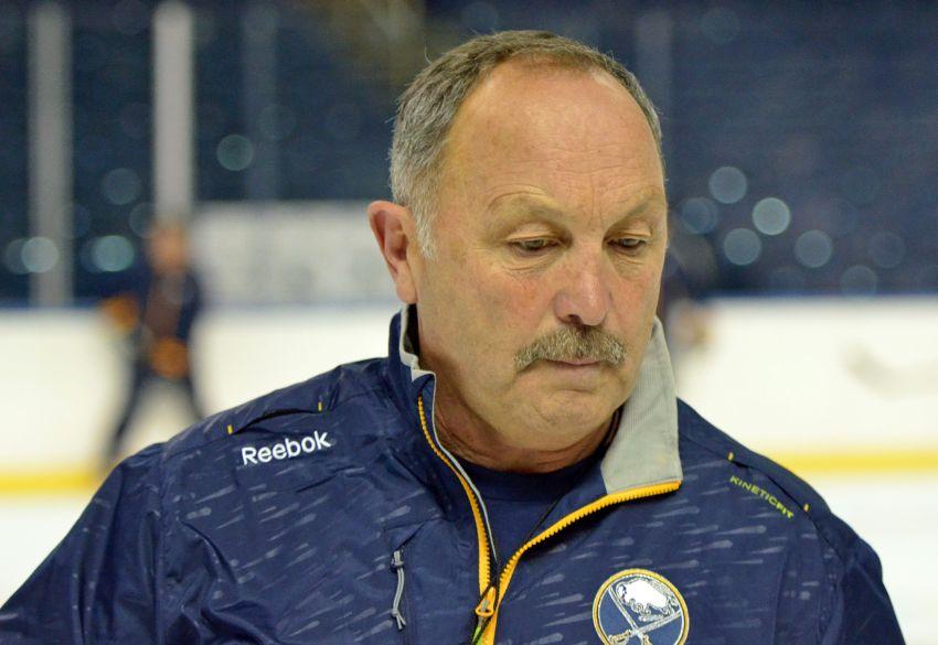 Sabres assistant coach Bryan Trottier enjoying new NHL life