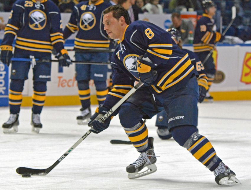 Sabres notes: Cody McCormick out of hospital; Nikita Zadorov must improve practice habits