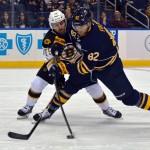 Sabres' Marcus Foligno nearing return; Nikita Zadorov out against Blues