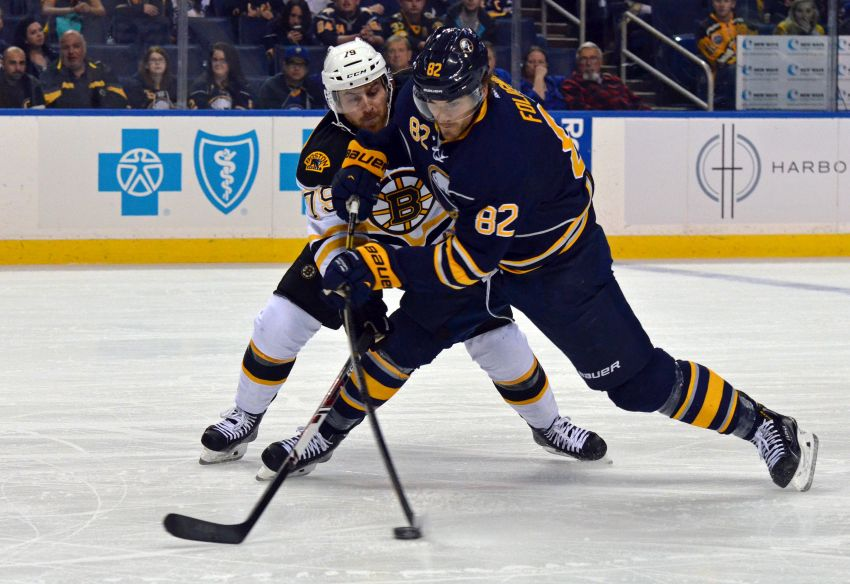 Sabres' Marcus Foligno nearing return; Nikita Zadorov out against Blues