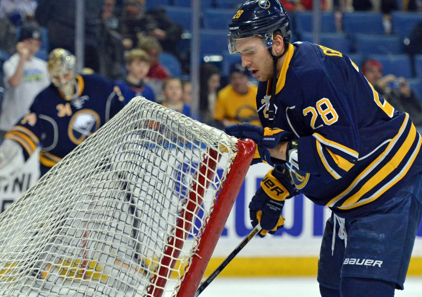Sabres' Zemgus Girgensons will play again this season
