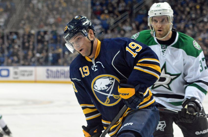 Sabres' Cody Hodgson scratched again; Marcus Foligno scores in return