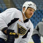 Former Sabres captain Steve Ott ready for Buffalo return with Blues