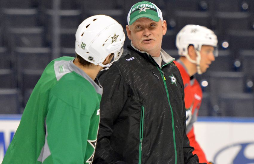 Now with Stars, Lindy Ruff and Jason Spezza can laugh about past
