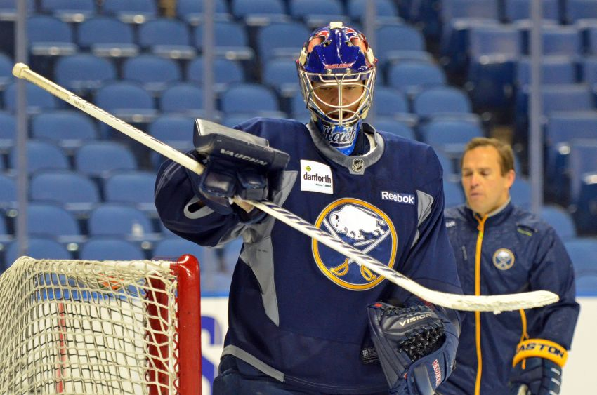 Strong finish could keep goalie Matt Hackett in Sabres' plans
