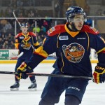 Sabres prospect Nick Baptiste thriving in new role with Otters