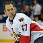 David Legwand happy to be with Sabres