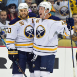 Nick Deslauriers and Marcus Foligno thriving on Sabres' No. 1 line