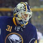 Sabres goalie Chad Johnson showcasing calm style
