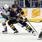 Sabres blow late lead, lose to Wild in shootout