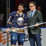 Sabres captain Brian Gionta honored for 1,000th game