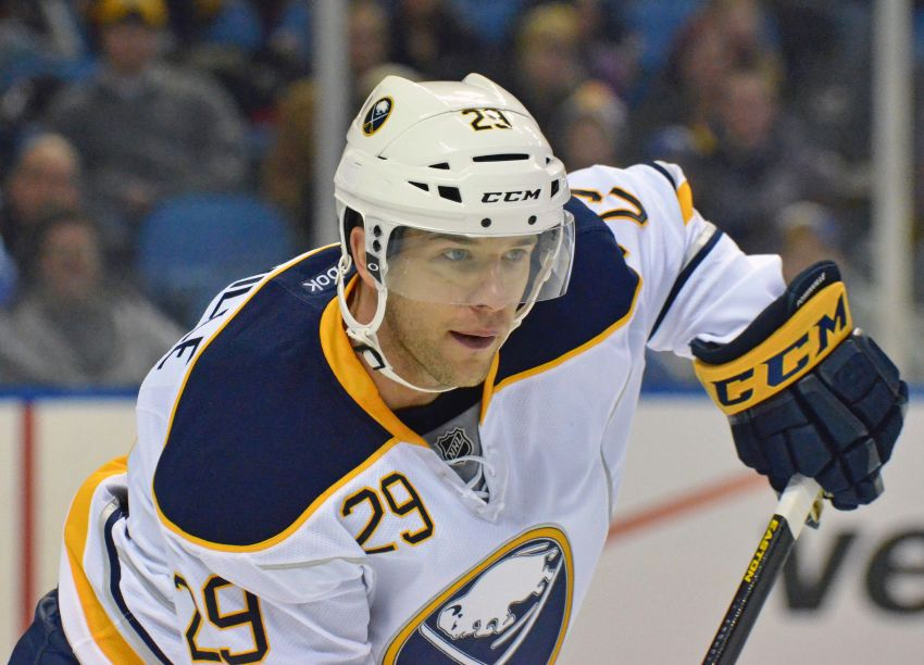 9d6a36f64 Sabres  Jake McCabe happy to give number back to Jason Pominville. BUFFALO  ...
