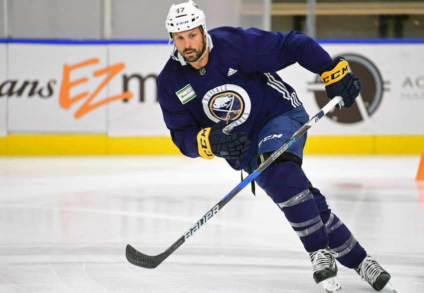 Sabres Switch Up Lines Zach Bogosian Not Traveling With Team Buffalo Hockey Beat