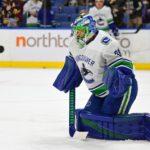 Season with Sabres ignited goalie Anders Nilsson's NHL career