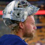 Sabres goalie Robin Lehner debuts different masks