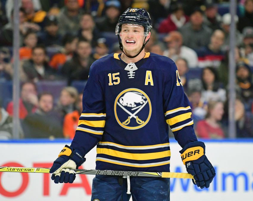 best service 89584 71baa Sabres notes: Jack Eichel earns first NHL All-Star Game ...