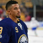 Tempers flare between Sabres' Justin Falk, Evander Kane during practice