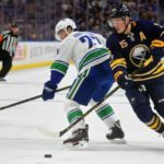 Sabres' Jack Eichel practices, doesn't have return date