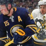 Sabres' Jack Eichel feels good after first practice, unsure of return