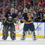 Sabres fall behind early, lose to Flames