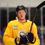 First practice memorable for Rasmus Dahlin, Sabres