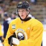 Sabres prospects Matej Pekar, Casey Mittelstadt battle on ice