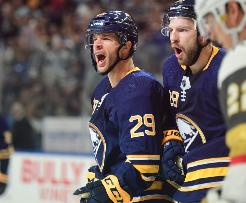 937c3da86 Sabres notes  Jason Pominville s goal reward for fourth line s strong play