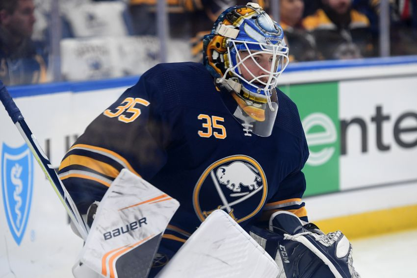 Sabres goalie Linus Ullmark quietly waiting to play a60083fc5