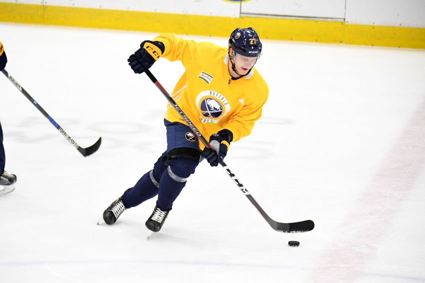 Sabres release training camp roster, schedule; 37 players ...
