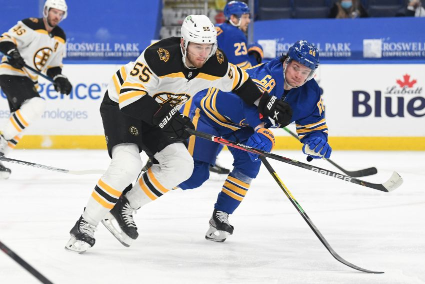 Sabres' awful power play costs them in loss to Bruins: 'It's frustrating'