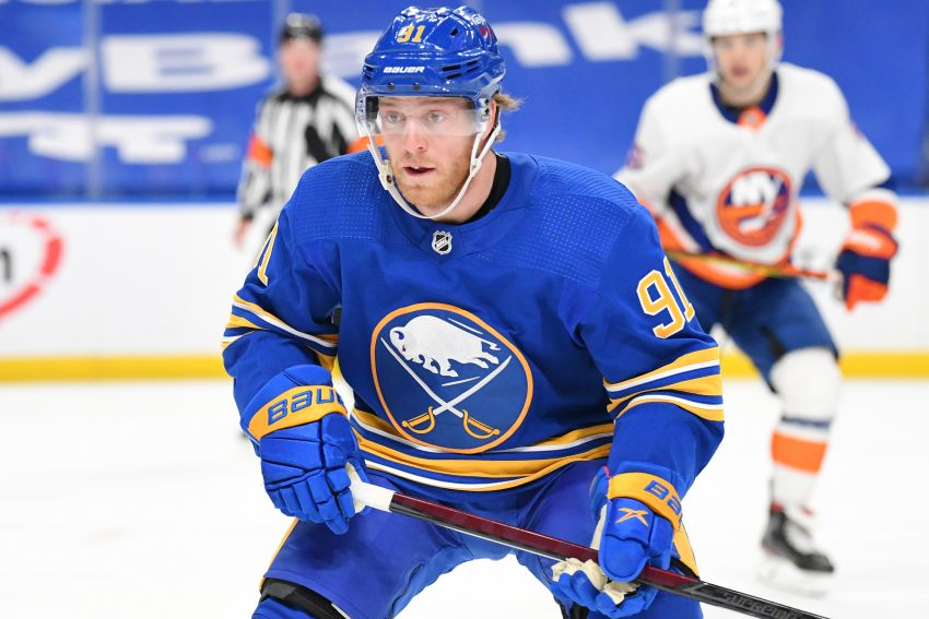 Sabres re-sign Drake Caggiula to one-year contract