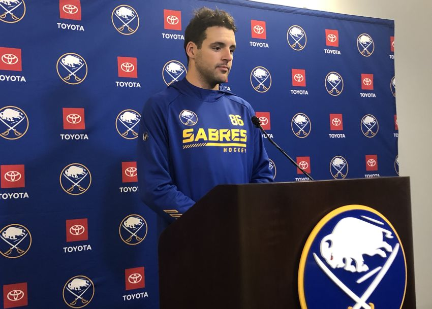 Christian Wolanin thrilled to come to Buffalo, join Sabres: 'It's a hockey town'