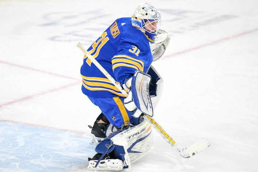 Sabres goalie Dustin Tokarski named NHL First Star of the Week